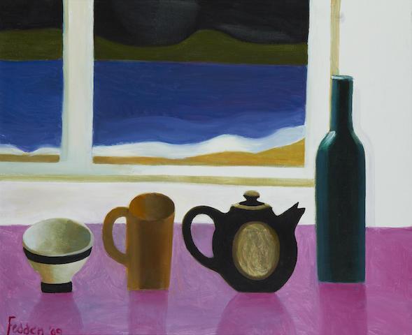 Mary Fedden R.A. (British, 1915-2012) The Beach