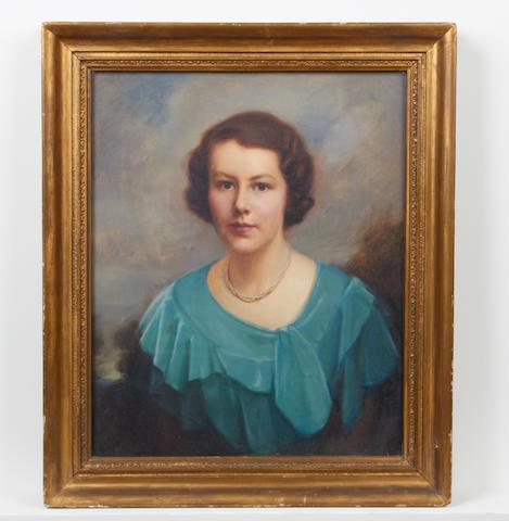 Emily Eyres (British, 1892-1905) Portrait of Venetia Able-Smith