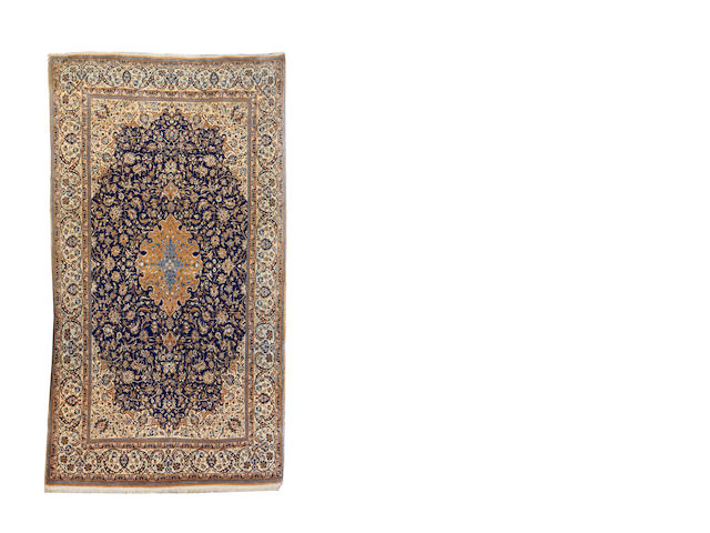 A Nain carpet, Central Persia, 317cm x 176cm