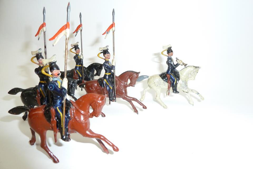 Britains set 100, 21st Lancers 73