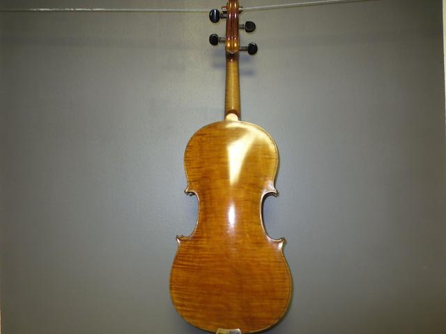 A Scottish Violin labelled James Corrie, Glasgow, 1907 (2)