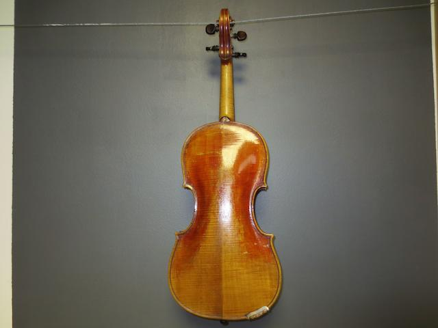 A Violin of the English school circa 1790 (2)
