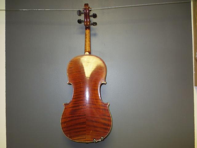 A Mirecourt Violin by J-B Colin, 1905 (2)