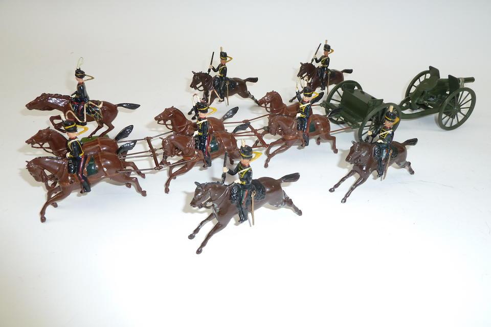 Britains set 39, Royal Horse Artillery 26