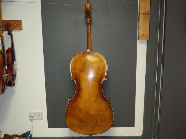 A Cello of the Schoenbach School circa 1880 in case (3)