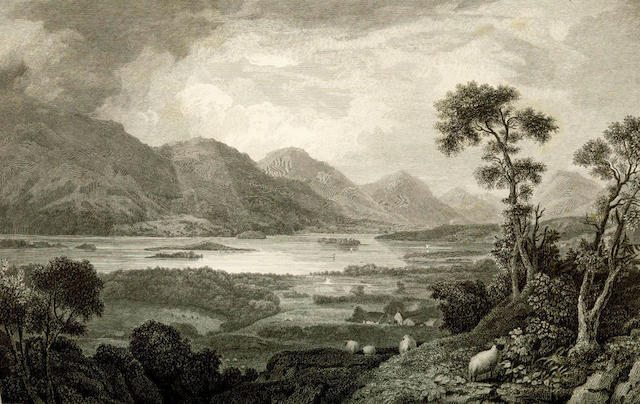 SCOTLAND - LEIGHTON (JOHN M.) Swan's Views of the Lakes of Scotland: A Series of Views, from paintings taken expressly for the work, 1836; RICHARDSON (M.A.) The Borderer's Table Book; or, Gatherings of the Local History and Romance of the English and Scottish Border, 8 vol. in 4, 1846 (5)