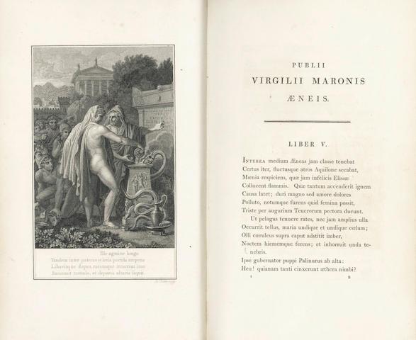 Virgilius Maro (Publius) Opera. Bucolica, Georgica, et Aeneis, 1800, 2 vol.