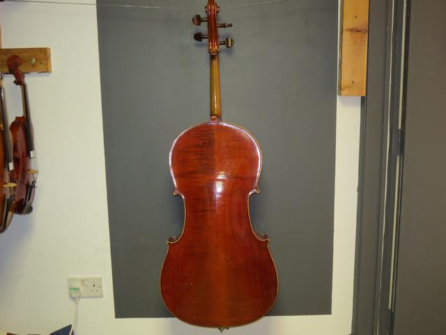 A French cello of the JTL School circa 1900 (3)
