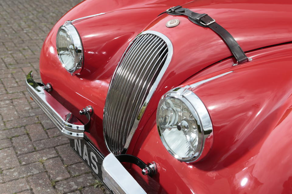 1952 Jaguar XK120 Roadster  Chassis no. 671958 Engine no. W4221-8