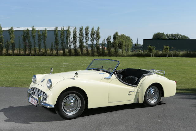 Rare overdrive example,1958 Triumph TR3A Roadster  Chassis no. TS/28124-LO Engine no. TS/28445-E