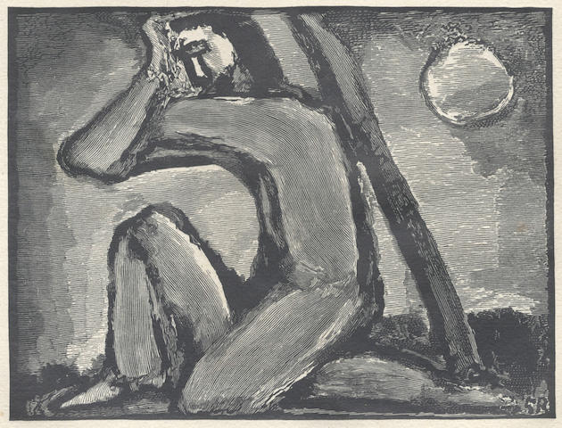 "ROUAULT (GEORGES) SUARES (ANDRÉ) Passion, NUMBER 96 OF 245 COPIES ""sur vergé de Montval"", without suite of plates, 1939"
