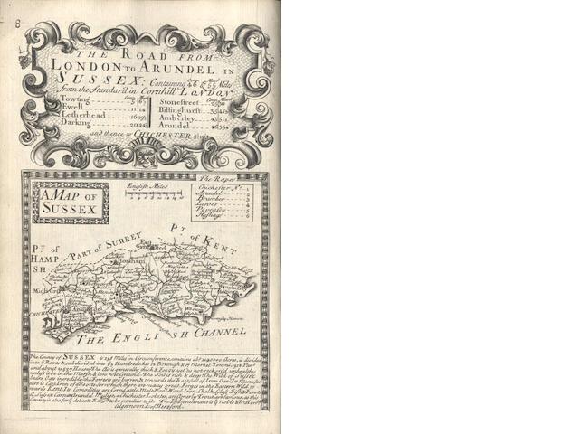 OWEN (JOHN) and EMANUEL BOWEN Britannia Depicta or Ogilby Improv'd, 1720