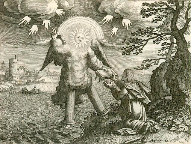 VISSCHER (NICOLAUS) Historiae sacrae Veteris et Novi Testamenti, 3 parts in one vol., [c.1650]