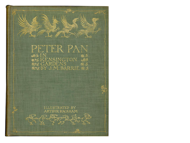 RACKHAM (ARTHUR) BARRIE (J.M.) Peter Pan in Kensington Gardens, [1912]; and others (5)
