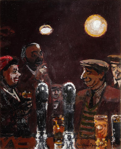 Ruskin Spear R.A. (British, 1911-1990) At the bar