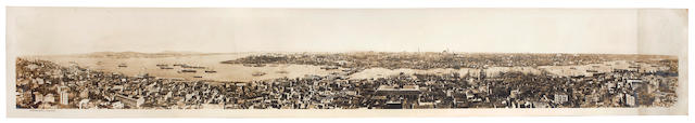 CONSTANTINOPLE A panorama of Constantinople, [c.1915]