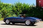 Single family ownership since 1963; 32,000 miles from new,1961 Jaguar E-Type 3.8-Litre Series 1 'Flat Floor' Roadster  Chassis no. 850038 Engine no. R1187-9