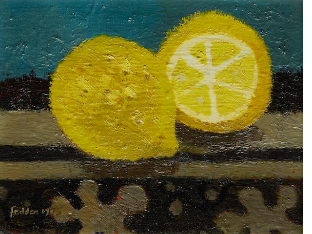 Mary Fedden R.A. (British, 1915-2012) 'A lemon and a half'
