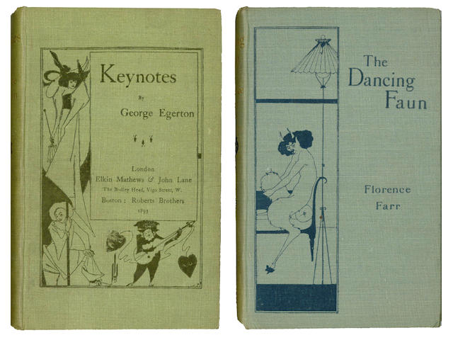 KEYNOTE SERIES - AUBREY BEARDLEY EGERTON (GEORGE) Keynotes, 1893; and others (33)