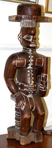 An Igbo colonial figure Nigeria 68cm high