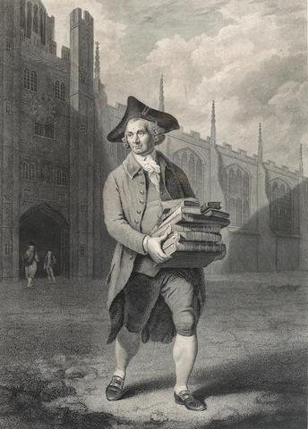 BIBLIOPOLA - NICHOLSON (JOHN) John Nicholson. Mappesiani bibliopolii Cant. custos, 1790