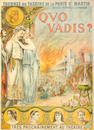 Louis Galice (French, 1864-1935) Quo Vadis ? tournée du Théâtre de La Porte Saint-Martin Colour lithographic poster, c.1900, on wove, 1360 x 990mm (53 1/2 x 39in)(SH)
