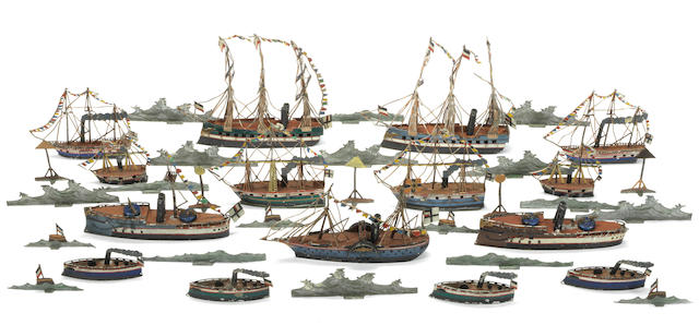 The Emperor Wilhelm I reviews his High Seas Fleet at Wilhelmshaven 34