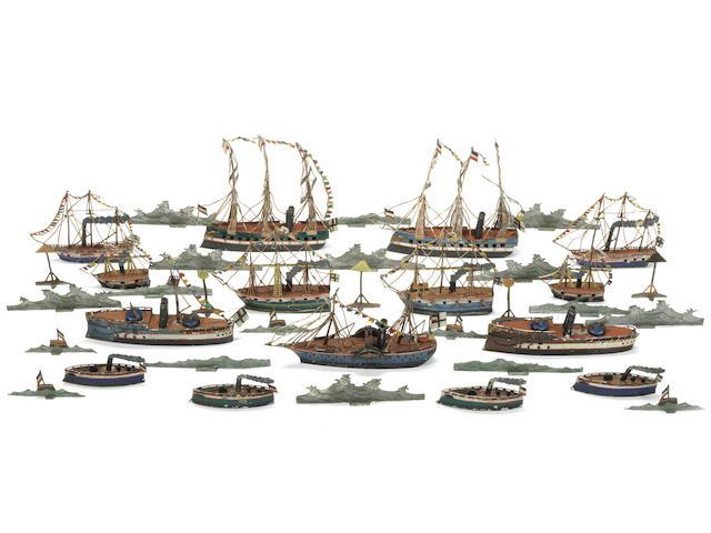 The Emperor Wilhelm I reviews his High Seas Fleet at Wilhelmshaven 34