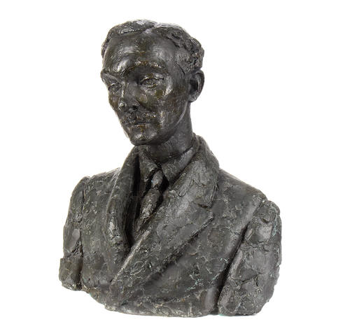 Frank Dobson, R.A. (British, 1888-1963) Leo H. Myers 54.5 cm. (21 1/2 in.) high