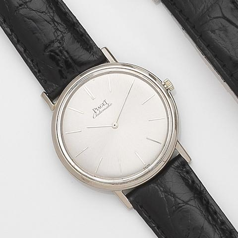 Piaget. An 18ct gold automatic wristwatchRef:12303, Case No.82820, Movement No.623138, Circa 1970