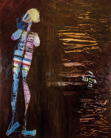 Sidney Nolan (Australian, 1917-1992) Woman and Mangroves 1957