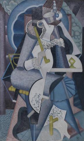 John Joseph Wardell Power (1881-1943) Abstract Figure