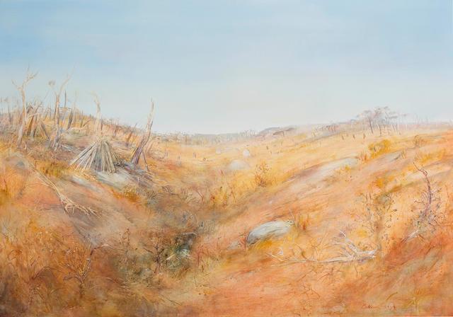 Arthur Boyd (1920-1999) Wimmera Landscape c.1963
