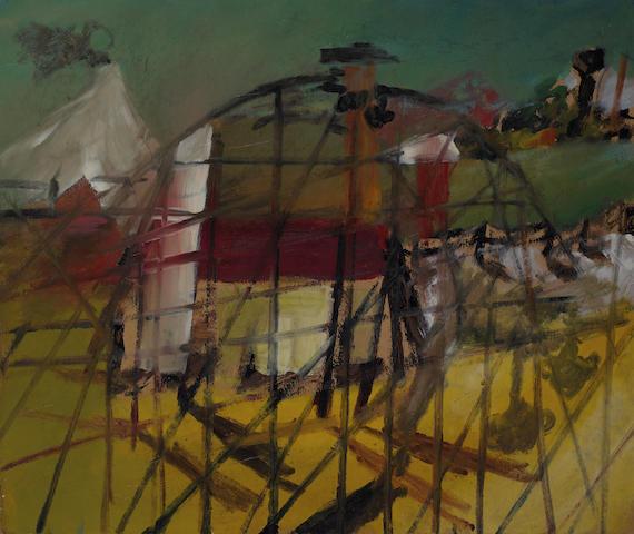Sidney Nolan (1917-1992) Luna Park 1945
