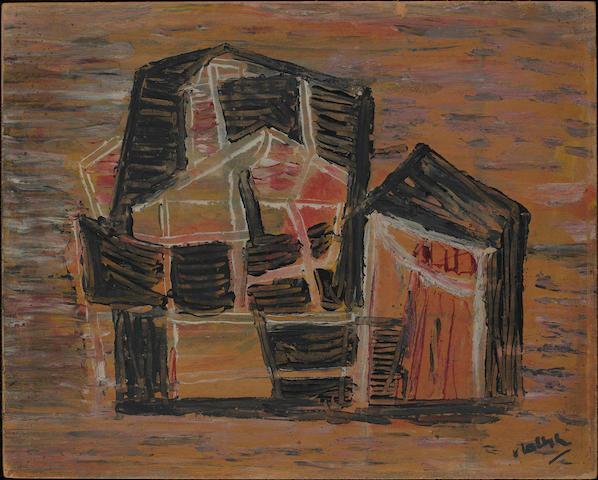 Sidney Nolan (1917-1992) Tent abstract c.1939