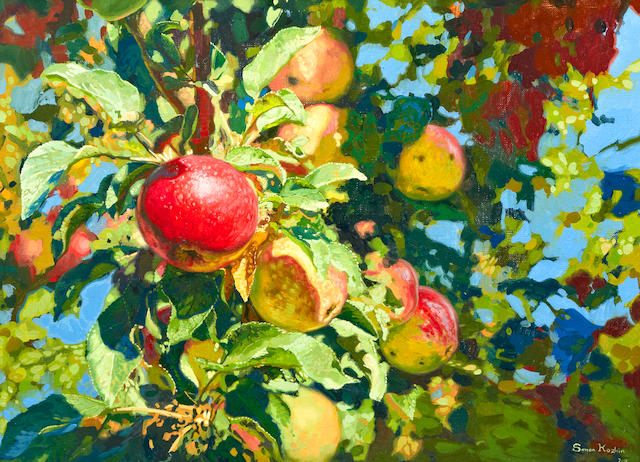 Simon Kozhin (Russian, born 1979) 'The Apples'
