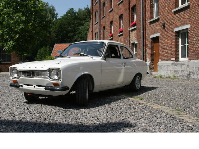 1974 Ford Escort Mk1 RS2000 Rally Car  Chassis no. BFATTP70041