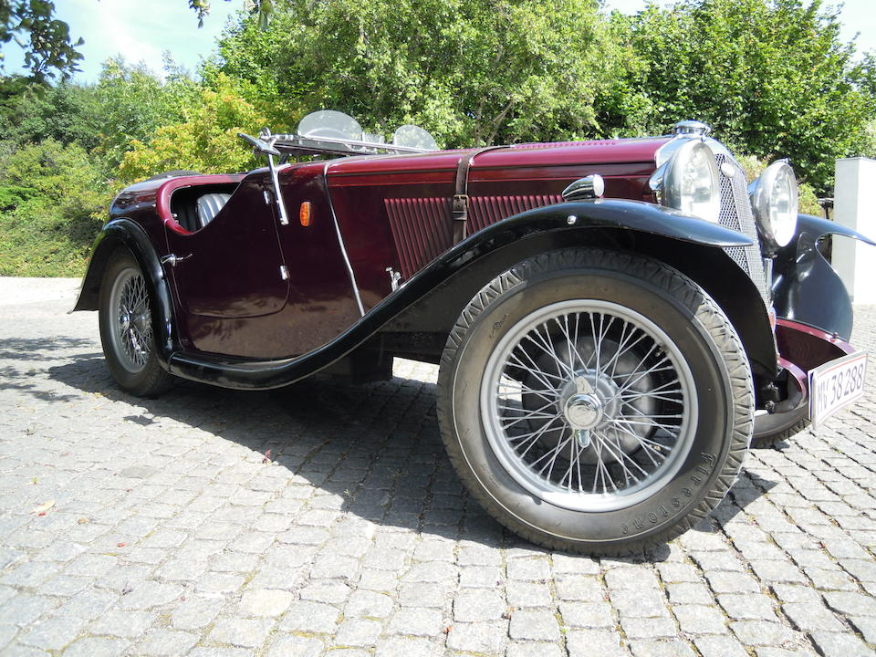 1935 Wolseley Hornet 14hp Special Daytona Sports  Chassis no. to be advised Engine no. to be advised