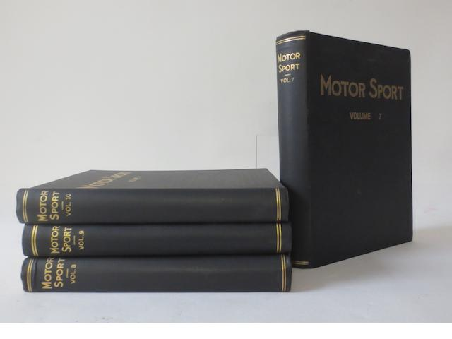 Motor Sport; Volumes 7 to 10,