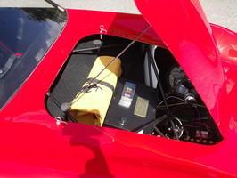 A superb scratch-built Ferrari 250 GTO child's car,