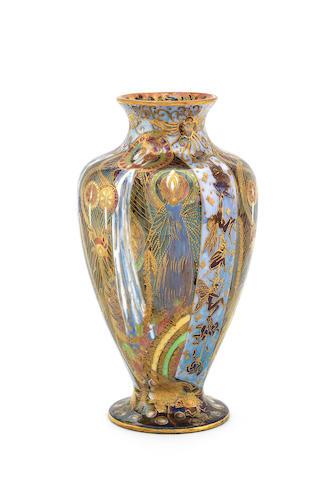 Daisy Makeig-Jones for Wedgwood 'Candlemas' a Fairyland Lustre Vase, circa 1920