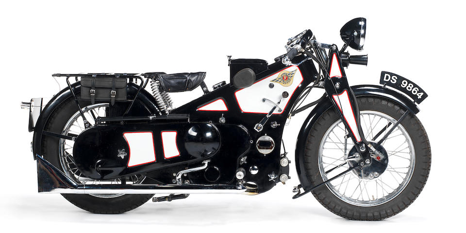 1929 Ascot-Pullin 496cc Sports Utility Frame no. A170 Engine no. AP226