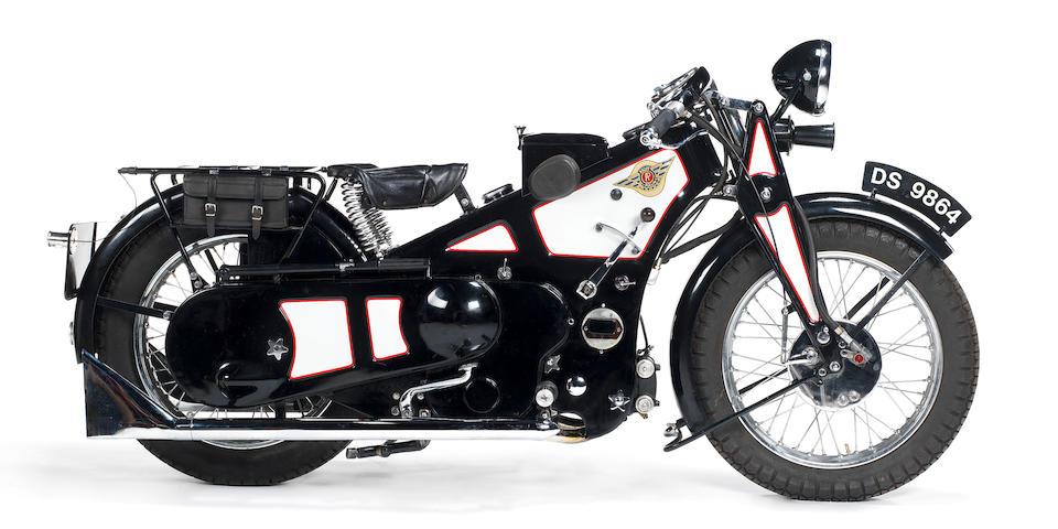 1929 Ascot-Pullin 496cc Sports Utility Frame no. A170 Engine no. AP226