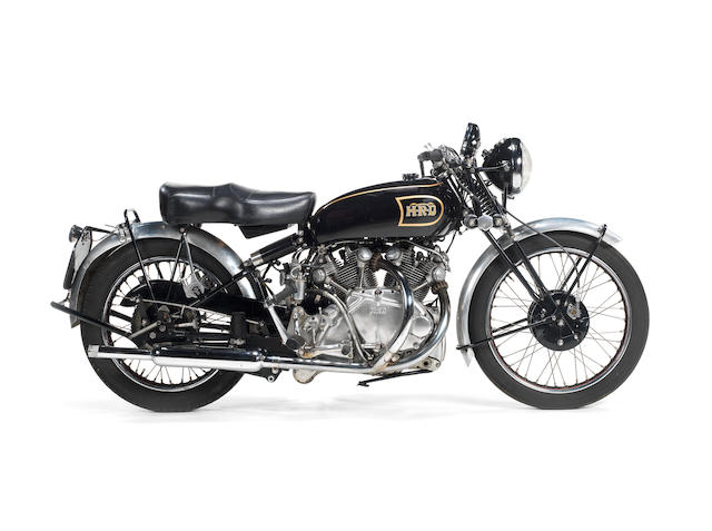 1947 Vincent-HRD 998cc Rapide Series B Frame no. R2105 Engine no. F10AB/1/106