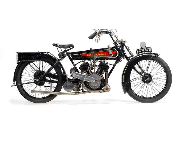 1922 OEC-Blackburne Twin Frame no. 2325 Engine no. V114