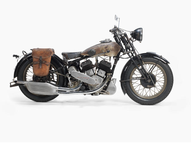 c.1934 Husqvarna 990cc Model 120 SV Frame no. 12 152 Engine no. 12 104 34