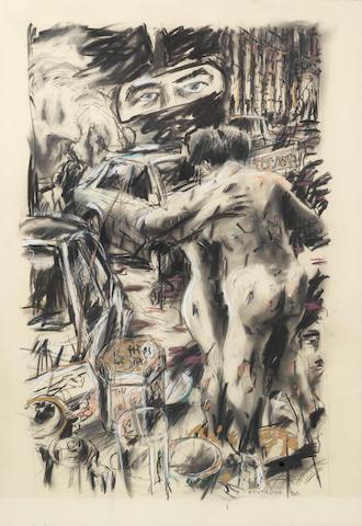 William Joseph Kentridge (South African, born 1955) 'Room Service'