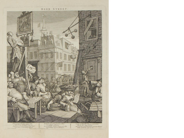 Hogarth - Beer St and Gin Lane
