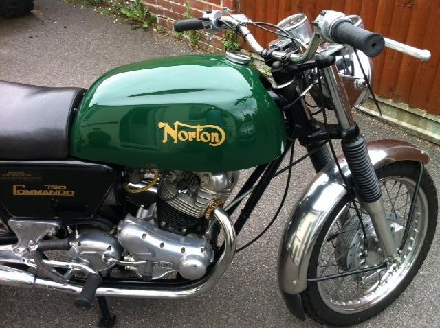 1975 Norton 829cc Commando 'Fastback' Frame no. 111554 Engine no. 111554