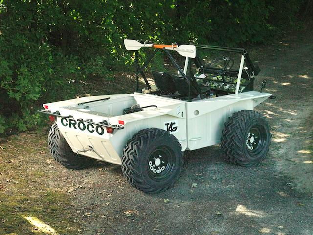 Road registered,1983 Croco TAG Amphibious 4x4